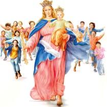 DOMENICA 24 MAGGIO – h. 20.00 processione di S. M. AUSILIATRICE
